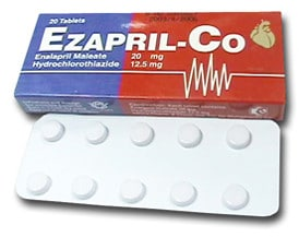 صورة , عبوة , دواء , أقراص , إيزابريل كو , Ezapril-Co