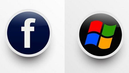 Facebook , مارك زوكربيرج ,بيل جيتس , Microsoft