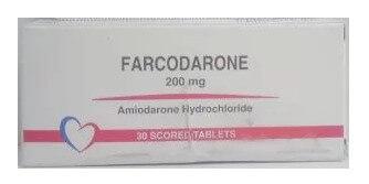 صورة,دواء,علاج, عبوة, فاركودارون , Farcodarone