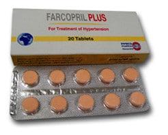 صورة , عبوة , دواء , أقراص , فاركوبريل بلاس , Farcopril Plus