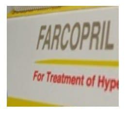 صورة , عبوة , دواء , أقراص , علاج ضغط الدم , فاركوبريل , Farcopril