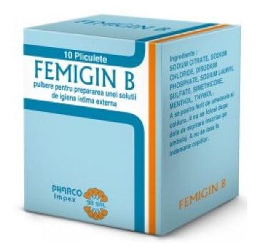 صورة , عبوة , دواء , بودرة , مضاد للفطريات , فيميجين ب , Femigin B