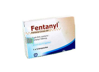 صورة , عبوة , دواء , مسكن للألم , فنتانيل , Fentanyl