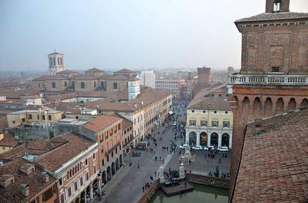 مدينة , فيرارا , إيطاليا , Ferrara City , صورة
