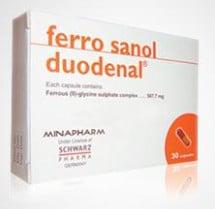صورة,دواء, عبوة, فروسانول ديودينال, Ferro sanol duodenal