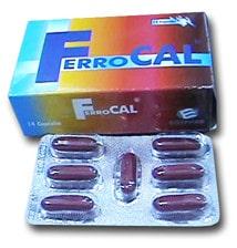 صورة، دواء، علاج، مكمل غذائي، عبوة، فيروكال ، FerroCal