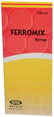 صورة, عبوة, فيرومكس, شراب, Ferromix