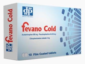 صورة,دواء, عبوة, فيفانو كولد, Fevano Cold