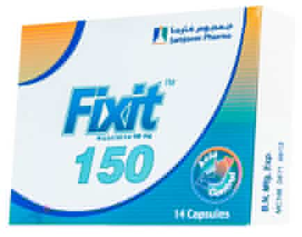 صورة, عبوة, دواء, فيكسيت, Fixit