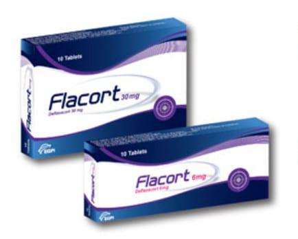 صورة, عبوة, فلاكورت , أقراص , Flacort