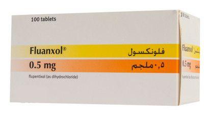 صورة,دواء,علاج, عبوة, فلونكسول , Fluanxol