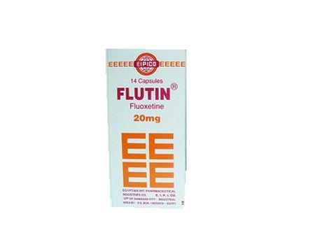 صورة , عبوة , دواء , لعلاج الإكتئاب , فلوتين , Flutin