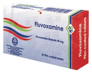 صورة, عبوة, أقراص, فلوفوكسامين, Fluvoxamine