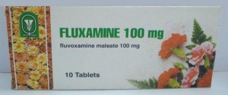 صورة , عبوة , دواء , لعلاج الوسواس القهري , فلوكسامين , Fluxamine