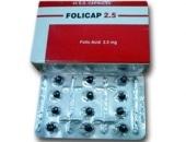 صورة, دواء, علاج, عبوة, فوليكاب , Folicap