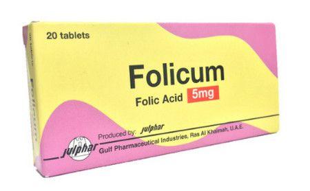 صورة , عبوة , دواء , أقراص , فوليكوم , Folicum