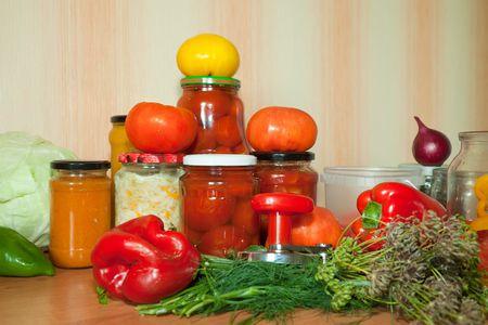 صورة , حفظ الطعام , الخضروات