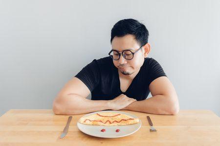 الحمية الغذائية , الاكتئاب , Food depression , صورة