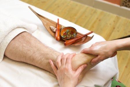 الطب الإنعكاسي , صورة , تدليك القدم