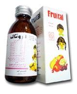 صورة, دواء, علاج, عبوة, فروتال , Fruital