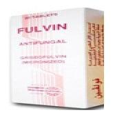 صورة , عبوة , دواء , أقراص , مضاد للفطريات , فولفين , Fulvin