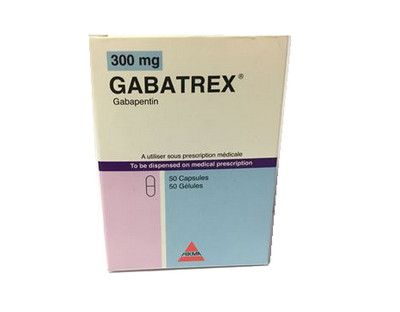 صورة , عبوة , دواء , لعلاج التهابات الأعصاب , جاباتريكس , Gabatrex