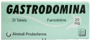 صورة, عبوة, جاسترودومينا, Gastrodomina