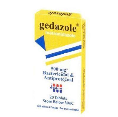 صورة, علاج, دواء, عبوة, جيدازول , Gedazole