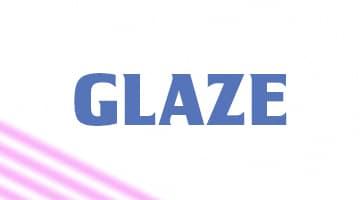 صورة,السكري,تصميم, جليز, Glaze