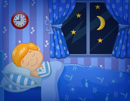 صورة , طفل نائم , رسائل مساء الخير