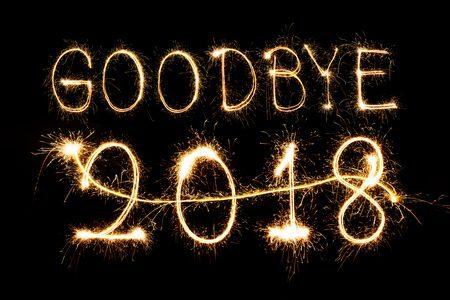Goodbye 2018 ، وداعاً 2018 ، شكراً 2018 ، صورة
