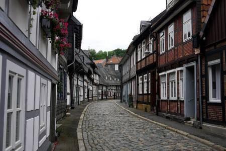 غوسلار ، ألمانيا ، أوروبا ، البلدة القديمة ، منجم رامسبيرغ ، فرانكنبيرغر ، بوابة بريتس