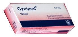 صورة , عبوة , دواء , أقراص , جينبرال , Gynipral