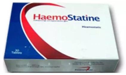 صورة, عبوة ,هيموستاتين, Haemostatine