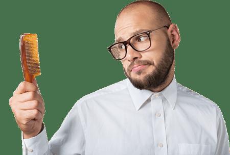صورة , رجل , أسباب تساقط الشعر , علاج التساقط