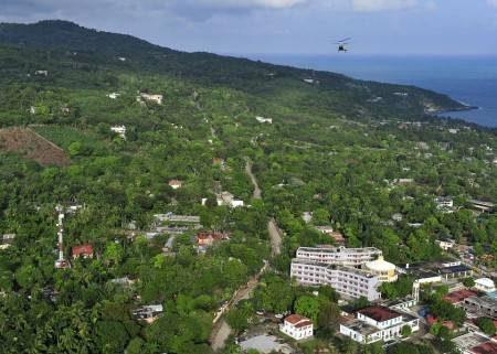 هايتي ، باست بلو ، لابادي ، شاطئ كوكوي ، سوت-ماتوران ، زيبلين جينج ، المناظر الطبيعية ، السياحة