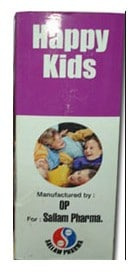 صورة , عبوة , دواء , شراب , مكمل غذائي , هابي كيدز , Happy Kids