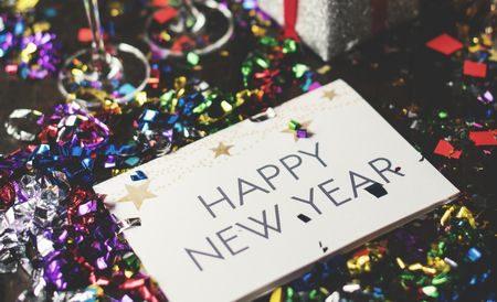 Happy New Year , العام الجديد , السنة الجديدة, العام الجديد, سنة جديدة سعيدة