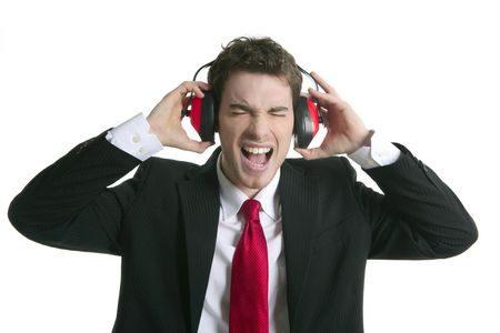 صورة , رجل , سماعات الأذن , مكبرات الصوت , أذن