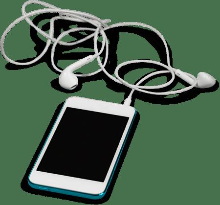 صورة , الهواتف الذكية , سماعات الأذن