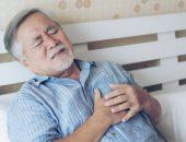 صورة , رجل , مريض , مرضى القلب , الذبحة الصدرية