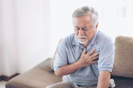 صورة , رجل , أمراض القلب , جراحة القلب