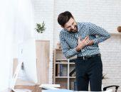 صورة , رجل مريض , تصلب الشرايين , أمراض القلب