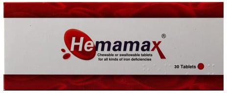 صورة, عبوة ,هيمامكس ,أقراص ,Hemamax