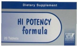 صورة, عبوة, هاي بوتنسي فورميولا, Hi-Potency Formula