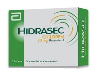 صورة , عبوة , دواء , علاج الإسهال عند الأطفال , هيدراسيك , Hidrasec