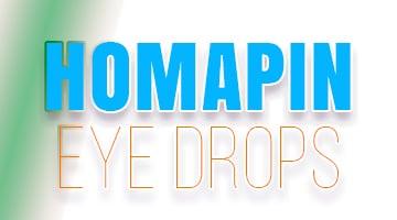 صورة,تصميم, هومابين, قطرة العين, Homapin