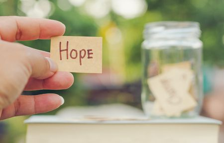 صورة , الأمل , مفهوم التفاؤل