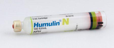 خرطوشة , Humulin N , هومولين إن