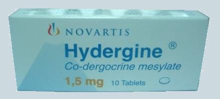 صورة,دواء,علاج,عبوة, هايدرجين , Hydergine